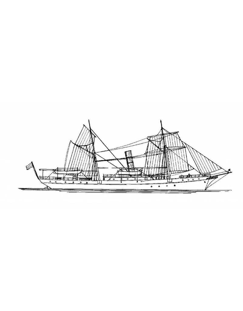 """NVM 16.18.004 Gouvernements ss """"Zwaan"""" (1891)"""