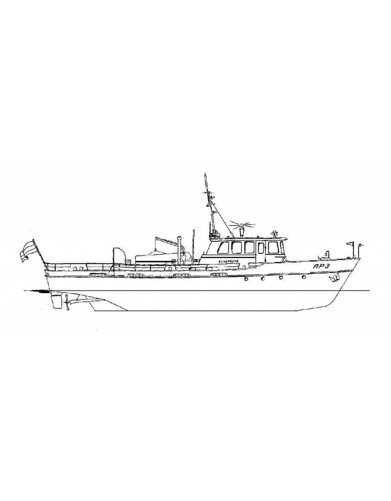 NVM 16.18.014 patrouilleboot ms RP-3 (19.. ) - KLPD Enkhuizen/IJmuiden