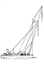 "NVM 16.19.008 drijvende bok ""Antilope"" (1976) - 60 ton"