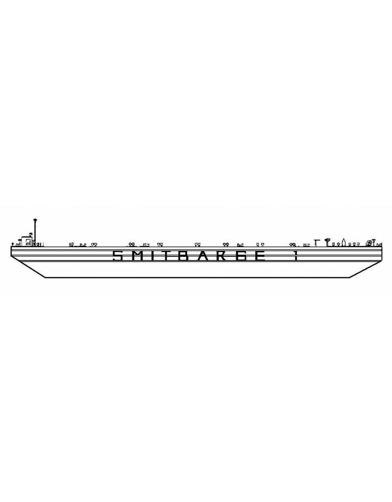 NVM 16.19.011 zeegaande ponton Smit Barge 1 (1986) - Smit Int.
