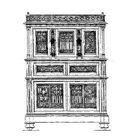 NVM 45.17.007 neo-gothische kast