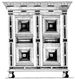 NVM 45.17.013 Hollandse barokkast