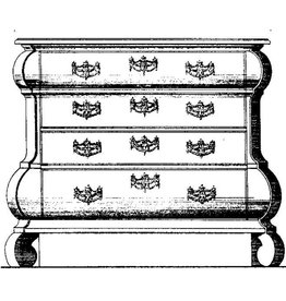NVM 45.18.007 Louis XV commode