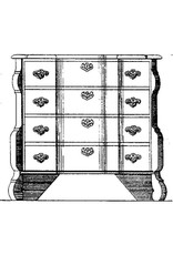 NVM 45.18.011 commode, Hollands barok