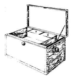 NVM 45.24.002 Louis XV kistje