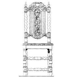 NVM 45.35.010 neo-renaissance stoel