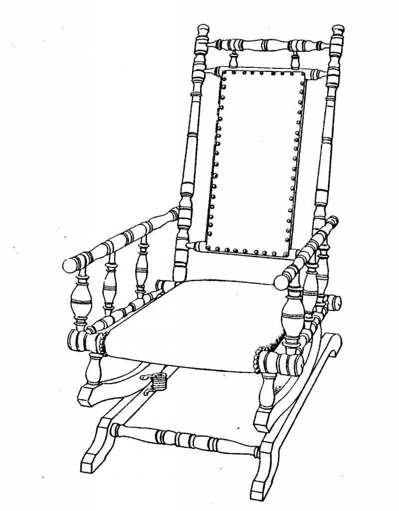 NVM 45.37.005 kinderschommelstoel