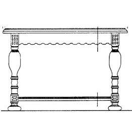 NVM 45.40.005 neo-renaissance salontafel