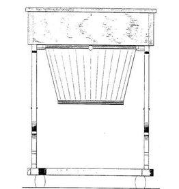 NVM 45.45.003 Biedermeier handwerktafeltje