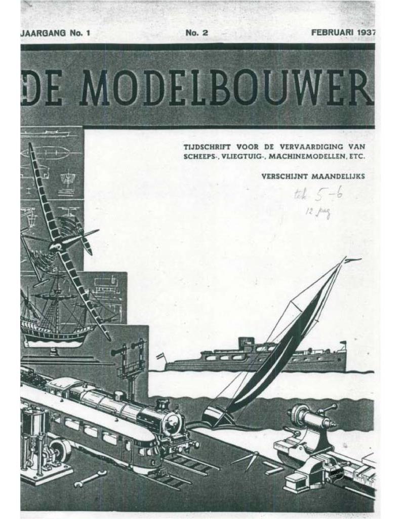 """NVM 95.37.002 Jaargang """"De Modelbouwer"""" Editie : 37.002 (PDF)"""