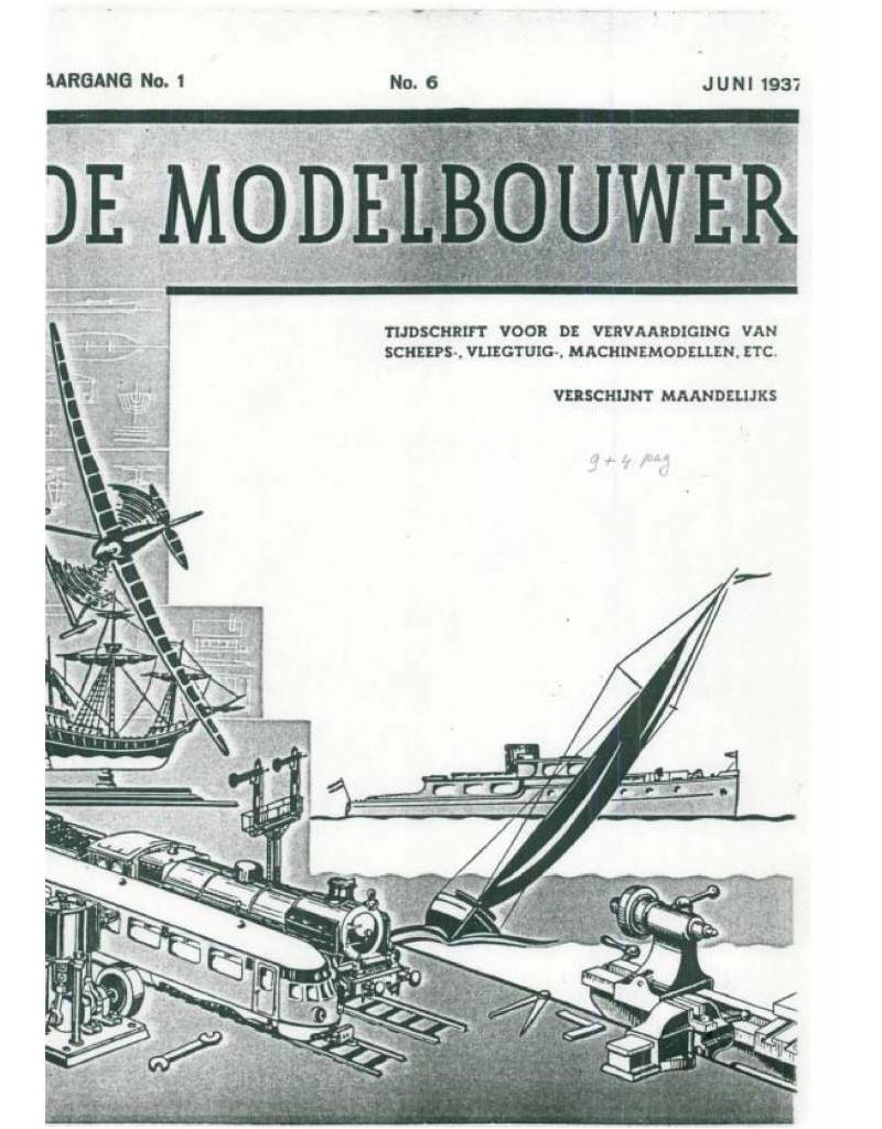 """NVM 95.37.006 Jaargang """"De Modelbouwer"""" Editie : 37.006 (PDF)"""