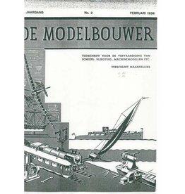 """NVM 95.38.002 Jaargang """"De Modelbouwer"""" Editie : 38.002 (PDF)"""