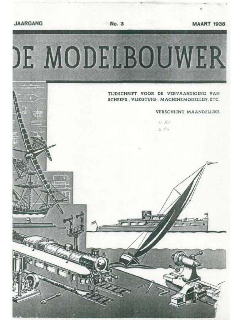 """NVM 95.38.003 Jaargang """"De Modelbouwer"""" Editie : 38.003 (PDF)"""