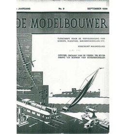 """NVM 95.38.009 Jaargang """"De Modelbouwer"""" Editie : 38.009 (PDF)"""