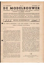 """NVM 95.38.012 Jaargang """"De Modelbouwer"""" Editie : 38.012 (PDF)"""