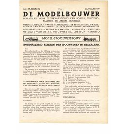 """NVM 95.39.001 Jaargang """"De Modelbouwer"""" Editie : 39.001 (PDF)"""