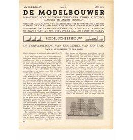 """NVM 95.39.005 Jaargang """"De Modelbouwer"""" Editie : 39.005 (PDF)"""