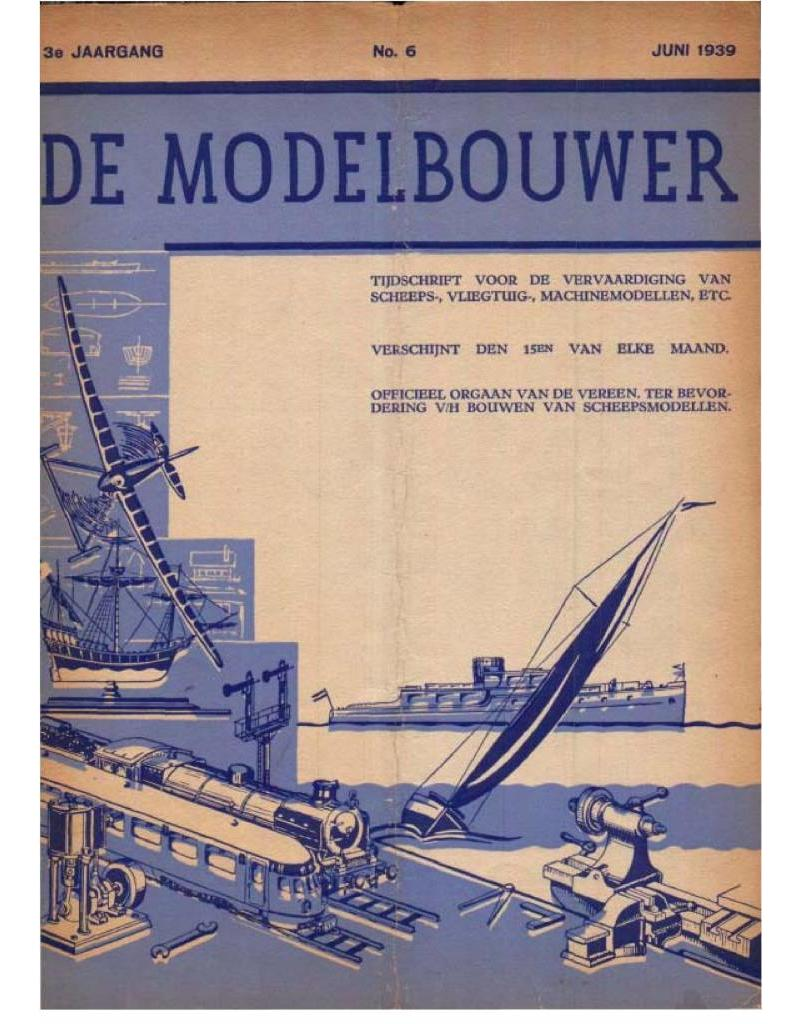 """NVM 95.39.006 Jaargang """"De Modelbouwer"""" Editie : 39.006 (PDF)"""