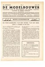 """NVM 95.39.007 Jaargang """"De Modelbouwer"""" Editie : 39.007 (PDF)"""