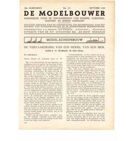 """NVM 95.39.010 Jaargang """"De Modelbouwer"""" Editie : 39.010 (PDF)"""