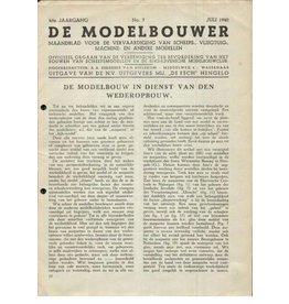 """NVM 95.40.007 Jaargang """"De Modelbouwer"""" Editie : 40.007 (PDF)"""