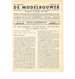 """NVM 95.40.008 Jaargang """"De Modelbouwer"""" Editie : 40.008 (PDF)"""