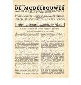"""NVM 95.40.010 Jaargang """"De Modelbouwer"""" Editie : 40.010 (PDF)"""