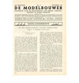 """NVM 95.40.011 Jaargang """"De Modelbouwer"""" Editie : 40.011 (PDF)"""