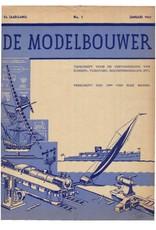 """NVM 95.41.001 Jaargang """"De Modelbouwer"""" Editie : 41.001 (PDF)"""