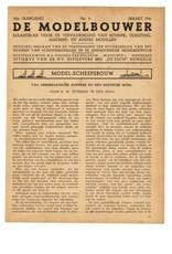 """NVM 95.41.003 Jaargang """"De Modelbouwer"""" Editie : 41.003 (PDF)"""