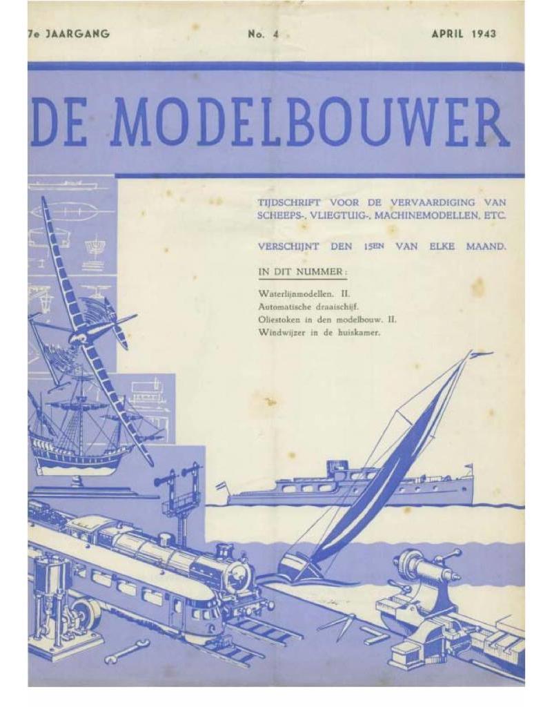 """NVM 95.43.004 Jaargang """"De Modelbouwer"""" Editie : 43.004 (PDF)"""