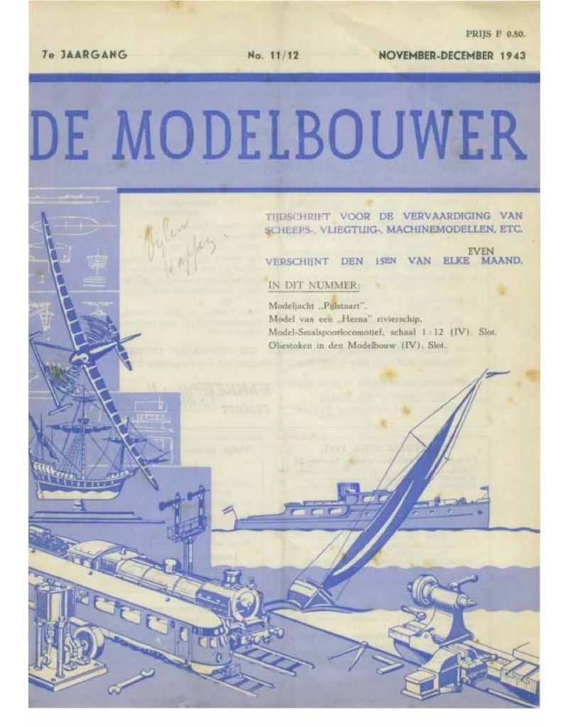 """NVM 95.43.011 Jaargang """"De Modelbouwer"""" Editie : 43.011 (PDF)"""