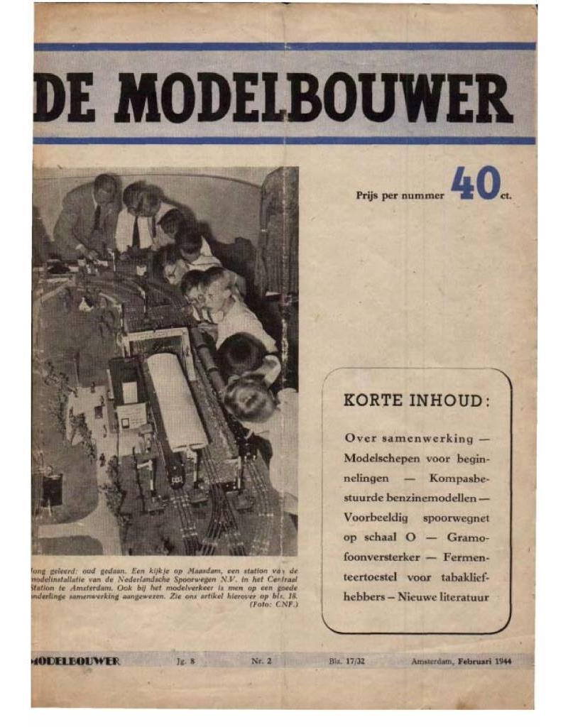 """NVM 95.44.002 Jaargang """"De Modelbouwer"""" Editie : 44.002 (PDF)"""