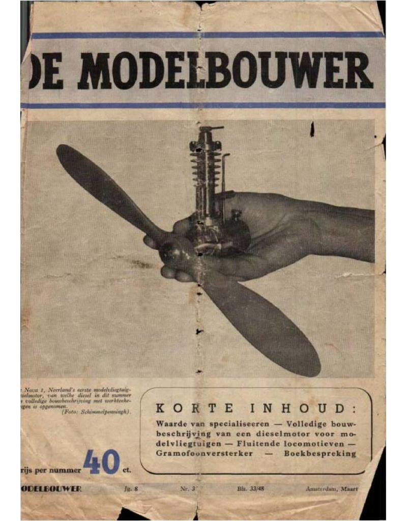 """NVM 95.44.003 Jaargang """"De Modelbouwer"""" Editie : 44.003 (PDF)"""