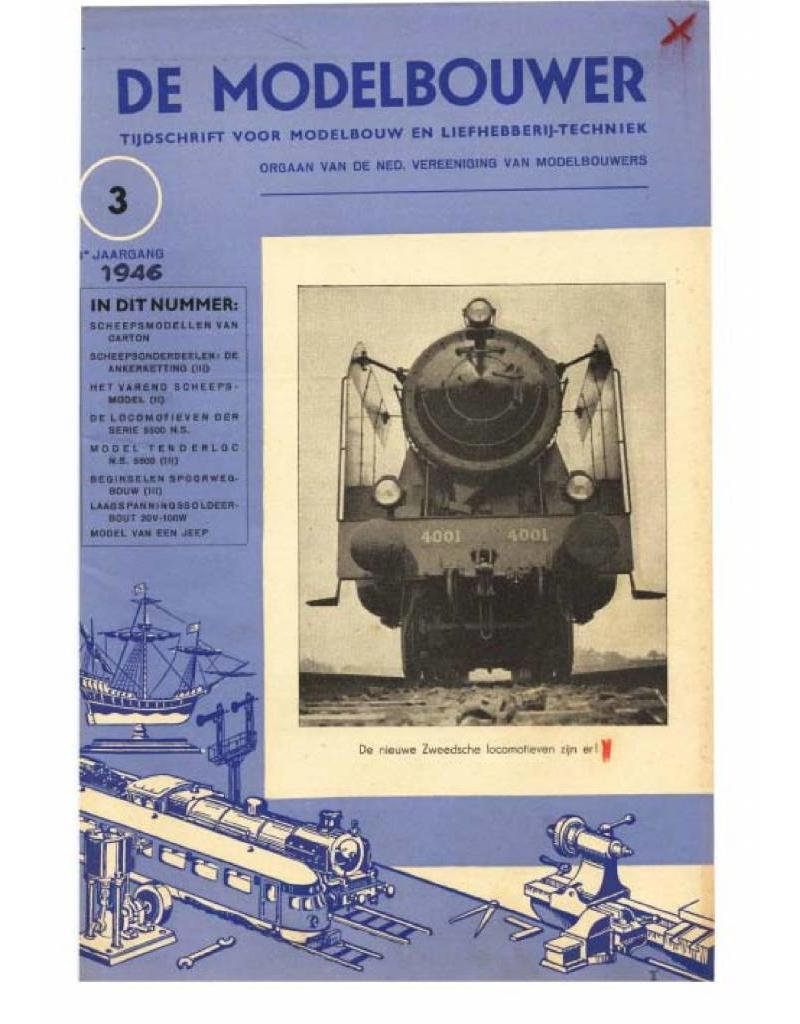 """NVM 95.46.003 Jaargang """"De Modelbouwer"""" Editie : 46.003 (PDF)"""