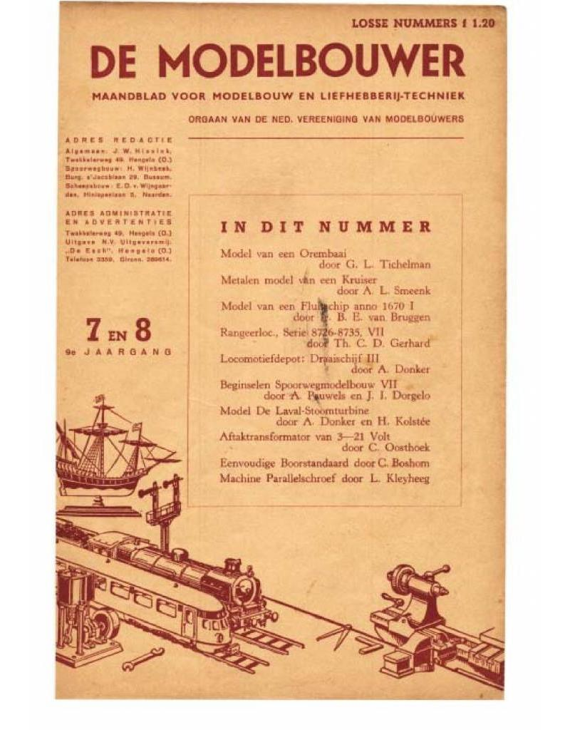 """NVM 95.47.007 Jaargang """"De Modelbouwer"""" Editie : 47.007 (PDF)"""