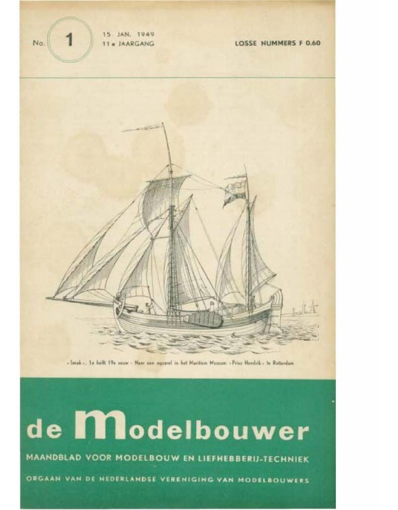 """NVM 95.49.001 Jaargang """"De Modelbouwer"""" Editie : 49.001 (PDF)"""