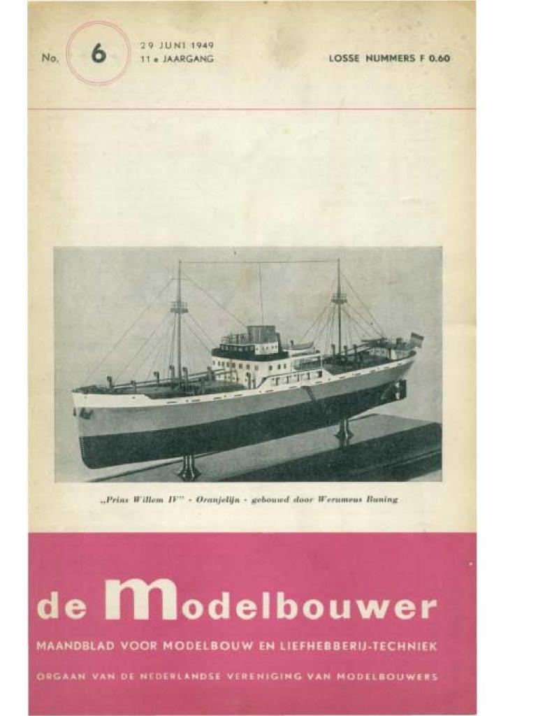 """NVM 95.49.006 Jaargang """"De Modelbouwer"""" Editie : 49.006 (PDF)"""