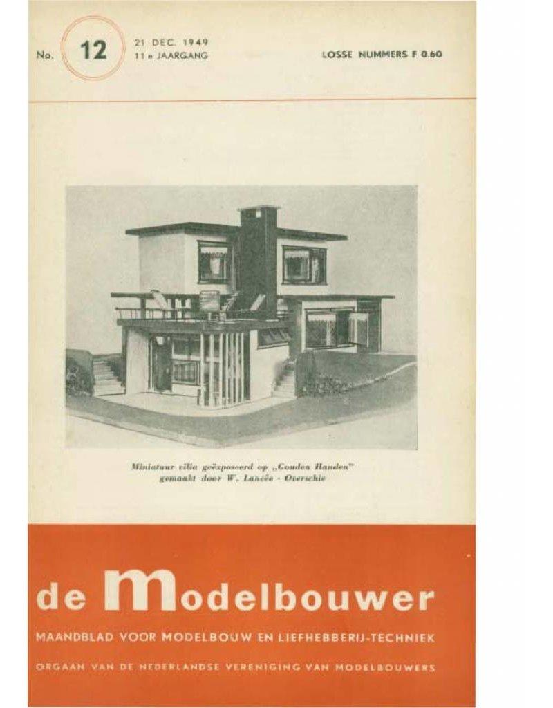 """NVM 95.49.012 Jaargang """"De Modelbouwer"""" Editie : 49.012 (PDF)"""