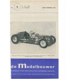 """NVM 95.50.001 Jaargang """"De Modelbouwer"""" Editie : 50.001 (PDF)"""