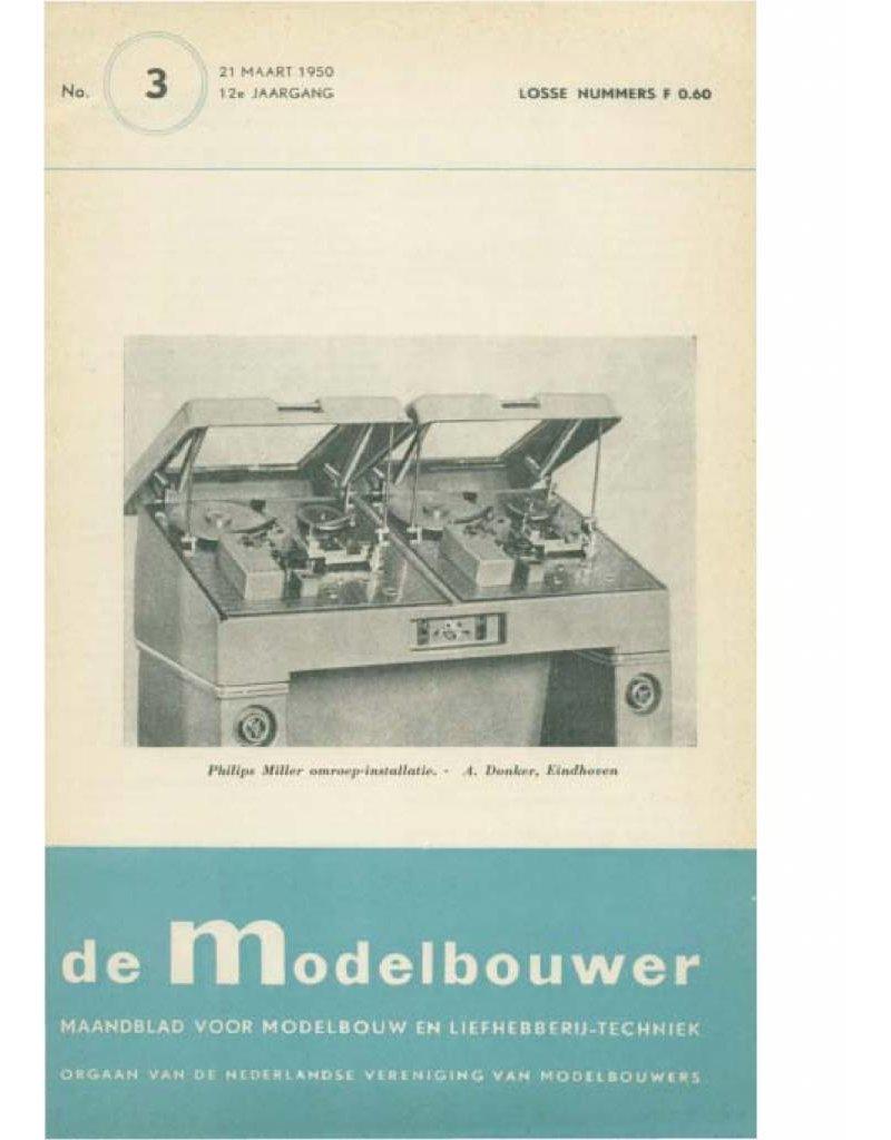 """NVM 95.50.003 Jaargang """"De Modelbouwer"""" Editie : 50.003 (PDF)"""