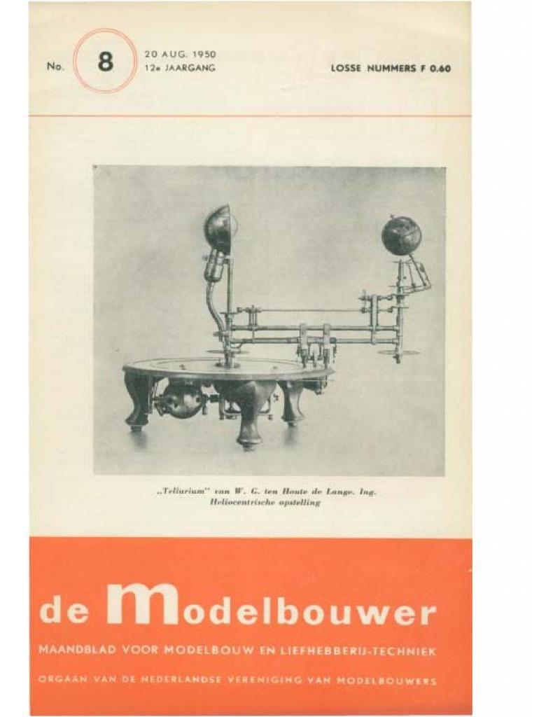 """NVM 95.50.008 Jaargang """"De Modelbouwer"""" Editie : 50.008 (PDF)"""