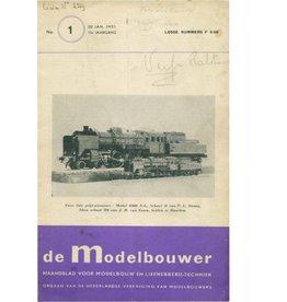 """NVM 95.51.001 Jaargang """"De Modelbouwer"""" Editie : 51.001 (PDF)"""