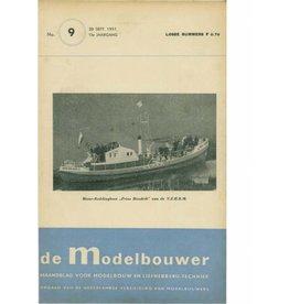 """NVM 95.51.009 Jaargang """"De Modelbouwer"""" Editie : 51.009 (PDF)"""