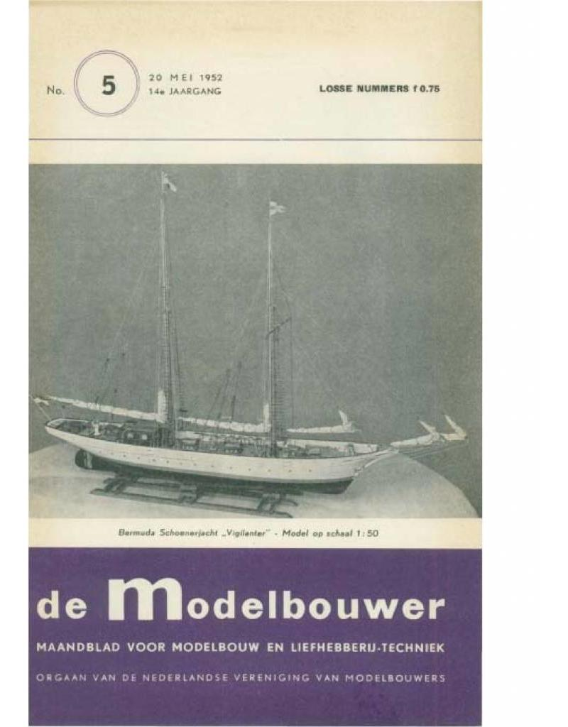 """NVM 95.52.005 Jaargang """"De Modelbouwer"""" Editie : 52.005 (PDF)"""