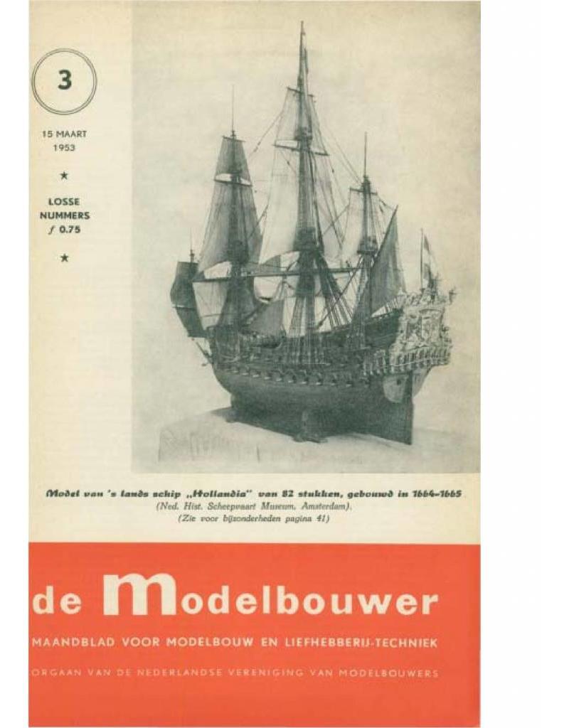 """NVM 95.53.003 Jaargang """"De Modelbouwer"""" Editie : 53.003 (PDF)"""