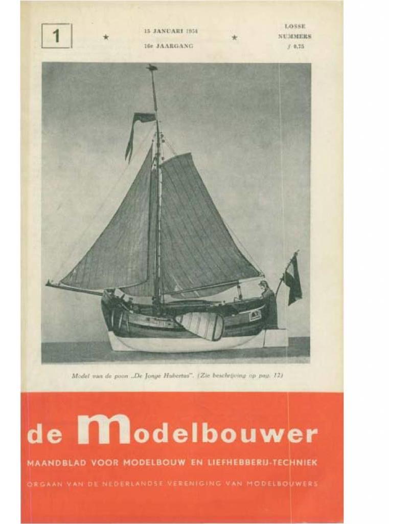 """NVM 95.54.001 Jaargang """"De Modelbouwer"""" Editie : 54.001 (PDF)"""