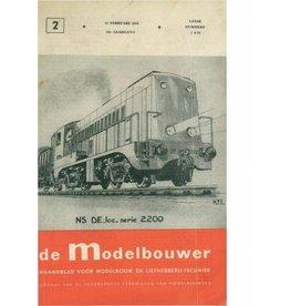 """NVM 95.54.002 Jaargang """"De Modelbouwer"""" Editie : 54.002 (PDF)"""