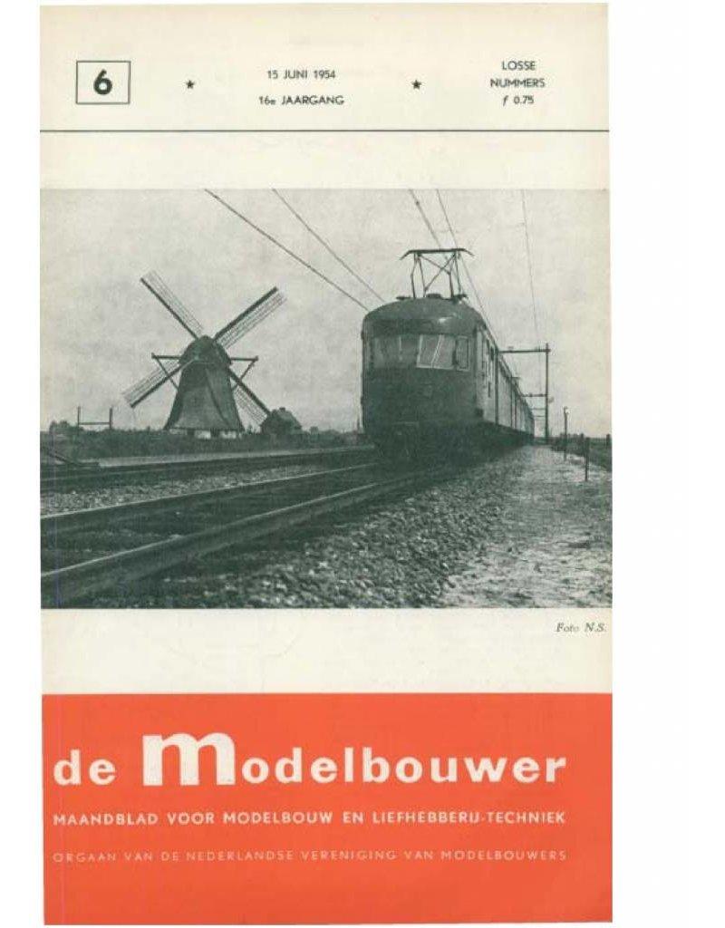 """NVM 95.54.006 Jaargang """"De Modelbouwer"""" Editie : 54.006 (PDF)"""