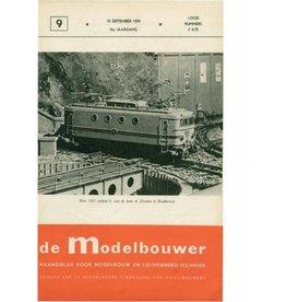 """NVM 95.54.009 Jaargang """"De Modelbouwer"""" Editie : 54.009 (PDF)"""
